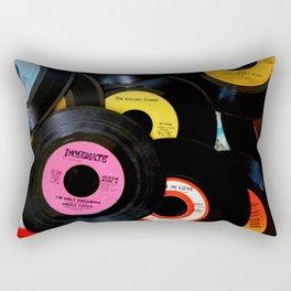 Music at 45 RPM Rectangular Pillow