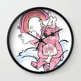 Bear Stare Wall Clock
