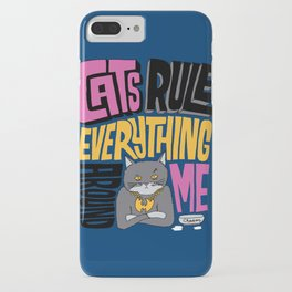 C.R.E.A.M. Cats Rule Everything Around Me iPhone Case