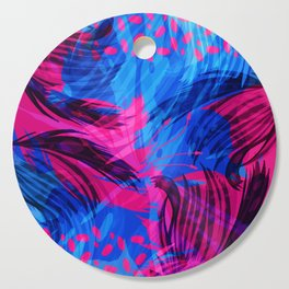 Going for an Abstract Swim Cutting Board