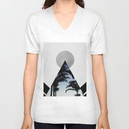 Tropical Mountain Unisex V-Neck