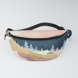 Coral Sunset Fanny Pack