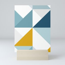 Modern Geometric 18/3 Mini Art Print