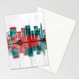 Birmingham England Skyline Stationery Cards
