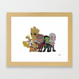 Guarding the Galaxy Framed Art Print