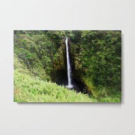 Akaka Falls Hawaii Metal Print