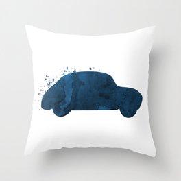 Car Throw Pillow