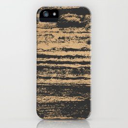 Marble Black Gold - N.O iPhone Case