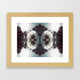 Snowflake Wishes Framed Art Print