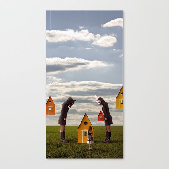The Question Canvas Print