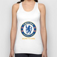 chelsea Tank Tops featuring Chelsea by DeBUM