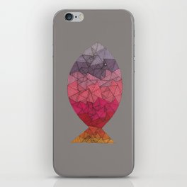 rainbow fish II iPhone Skin