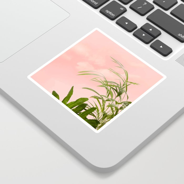 Minimal Botanical #digitalart #nature Sticker