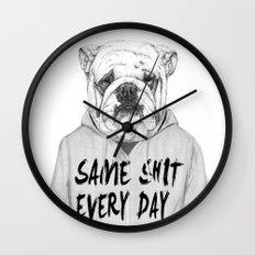 Same shit... Wall Clock