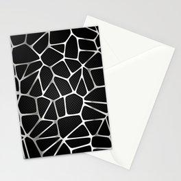 PATTERN-BLACK 3D Stationery Cards
