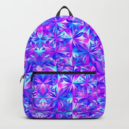 Pink And Blue Gradient Seamless Pattern Backpack