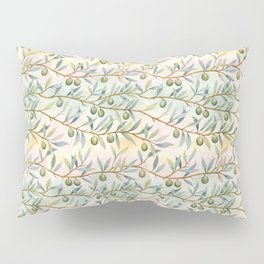 olive branches pattern Pillow Sham