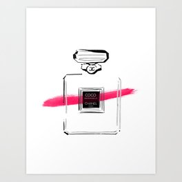 Pink Perfume #5 Art Print
