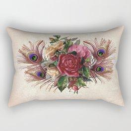 Peacock Feather Bouquet Rectangular Pillow