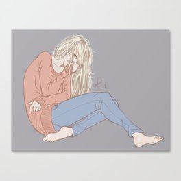 Unhinged Canvas Print