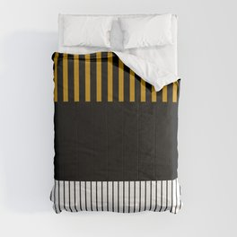 Colour Pop Stripes - Dark Yellow Comforters