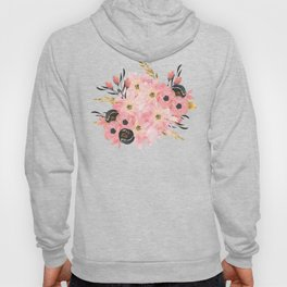 Night Meadow on White Hoody