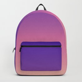 Evening Ombre - Deep Pink, Purple and Gold Backpack