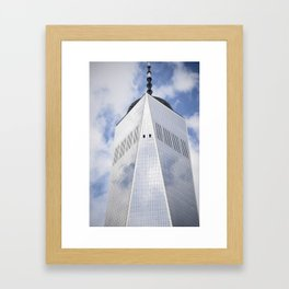 Top of the Tower Framed Art Print