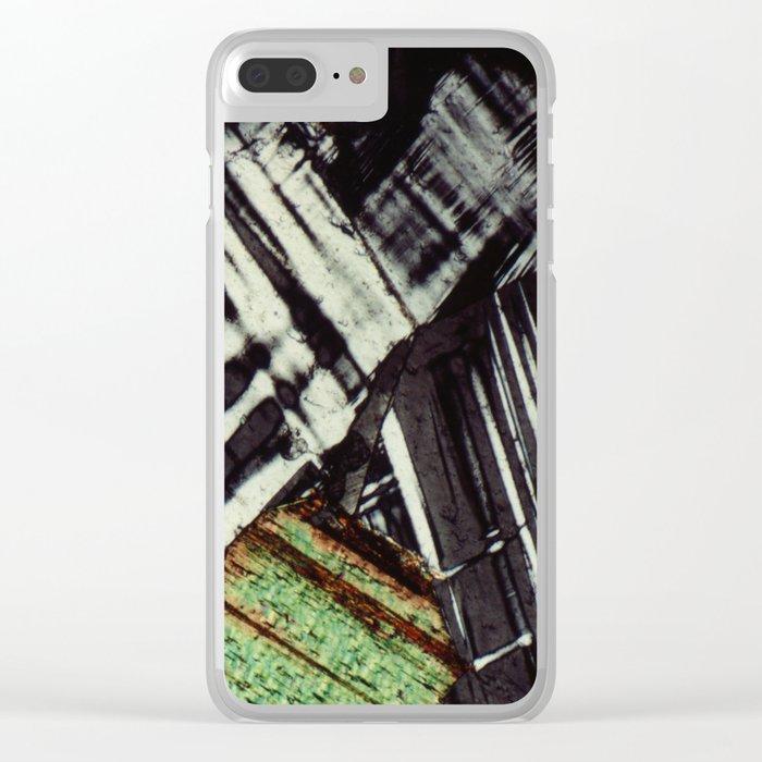 Feldspar and Biotite Clear iPhone Case