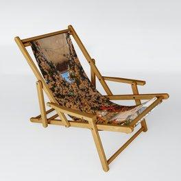 Montisola flower festival on island of Montisola Sling Chair