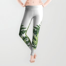 Summer Forest Ferns Leggings