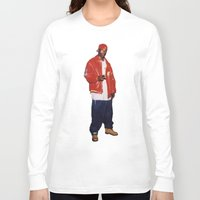 2pac Long Sleeve T-shirts featuring Big L  by Gold Blood