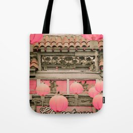 Los Angeles Chinatown Sign Tote Bag