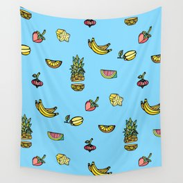Tropical Fruits Wall Tapestry