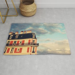 Shadow Of Sacre Coeur Rug