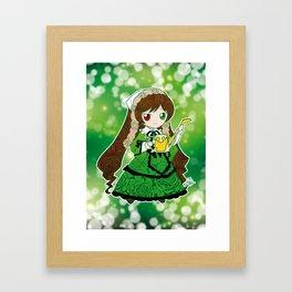 Chibi Suiseiseki Framed Art Print