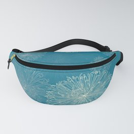 Spider Chrysanthemums Fanny Pack