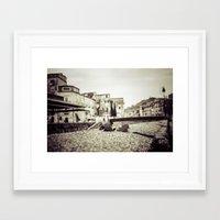 antique Framed Art Prints featuring [Antique] by Mathias Rat
