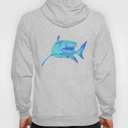 Swirly Shark Hoody