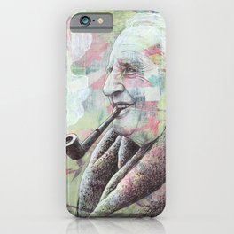 JRR Tolkien - One Author To Rule Them All iPhone Case