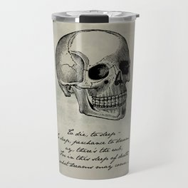 Shakespeare - Hamlet - What Dreams May Come Travel Mug