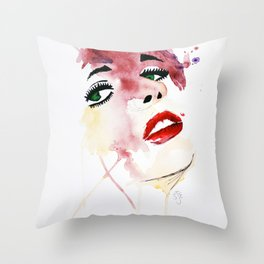 Sophie. Throw Pillow