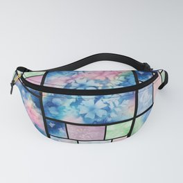 Sunprint Stained Glass 1 Fanny Pack