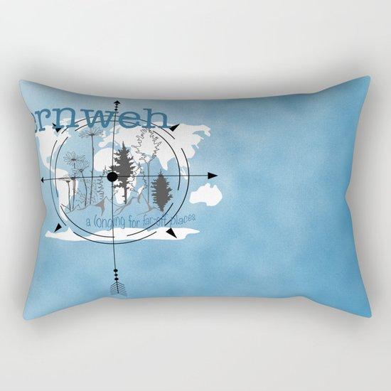 Fernweh Rectangular Pillow