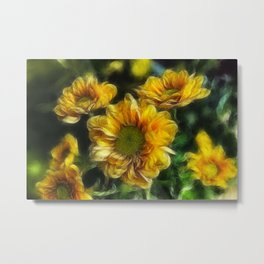 Sweet As A Daisy Metal Print
