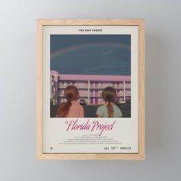 The Florida Project (2017) Minimalist Poster Framed Mini Art Print