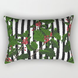 Holly - Birth Month Flower for December Rectangular Pillow