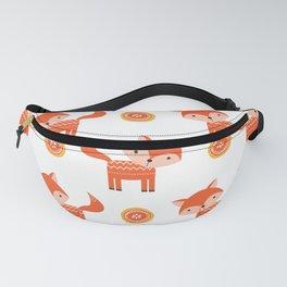 Orange Fox Fanny Pack
