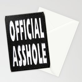 Official Asshole Stationery Cards