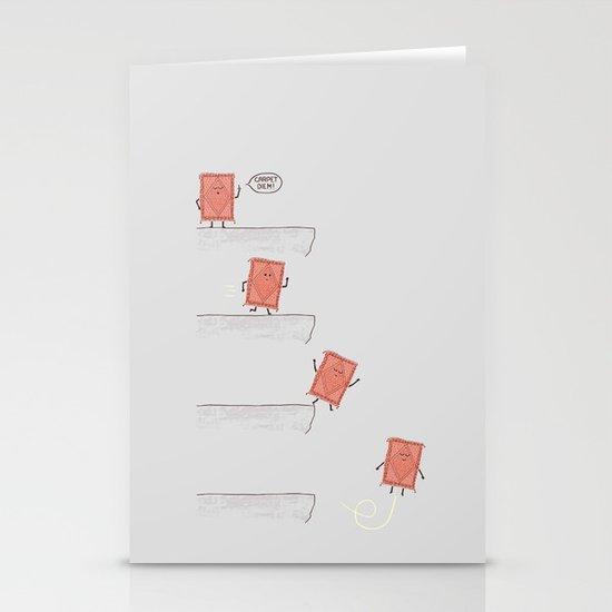 Carpet Diem Stationery Cards